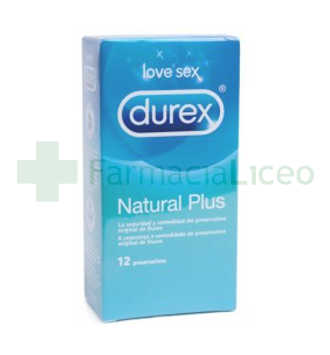 Durex Natural Plus preservativos 12 u.