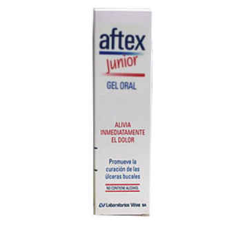 AFTEX JUNIOR GEL ORAL 15 ML