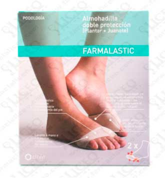 ALMOHADILLA DOBLE PROTECCION FARMALASTIC T - MEDIANA