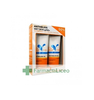 ANTHELIOS PACK WET SKIN 250 ML SPF 50+ 50%2ªU