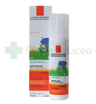 ANTHELIOS SPF-50+ DERMOPEDIATRICO BEBE LECHE 50 ML