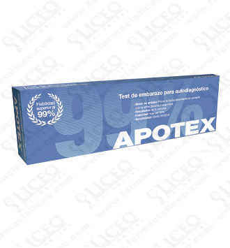 APOTEX TEST DE EMBARAZO 1 U