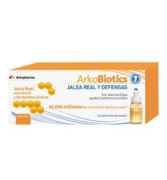 ARKOPROBIOTICS ENERGIA Y DEFENSAS JALEA REAL ADULTOS 7 UNIDOSIS