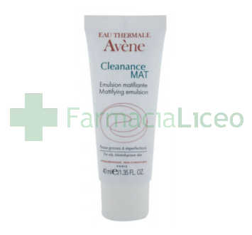 AVENE CLEANANCE EMULSION SEBORREGULADOR MATIFICANTE 40 ML