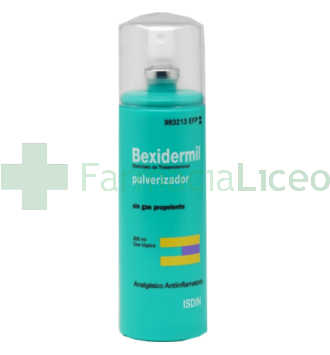 BEXIDERMIL 100 MG/ML AEROSOL TOPICO 200 ML