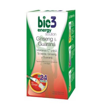 BIE3 ENERGY SOLUTION STICK SOLUBLE 4 GR 24 UNIDADES