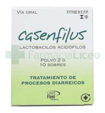 CASENFILUS 2 G 10 SOBRES POLVO SUSPENSION ORAL