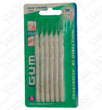 CEPILLO INTERDENTAL GUM 2114 BI-DIRECTION ULTRAM
