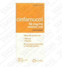 CINFAMUCOL CARBOCISTEINA 50 MG/ML SOLUCION ORAL