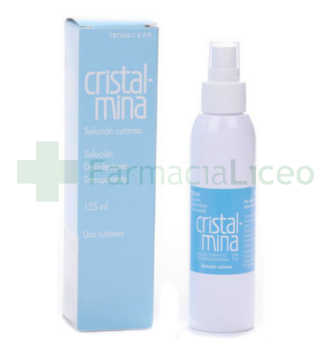 CRISTALMINA 1% SOLUCION TOPICA 1 FRASCO 125 ML