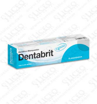 DENTABRIT BLANQUEADOR 125 ML