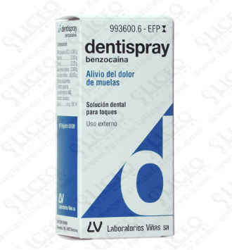 DENTISPRAY 5% AEROSOL BUCAL SOLUCION 5 ML