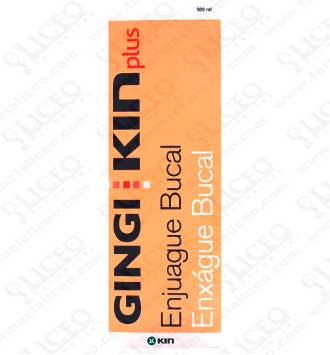 GINGI KIN PLUS ENJUAGUE BUCAL 500 ML