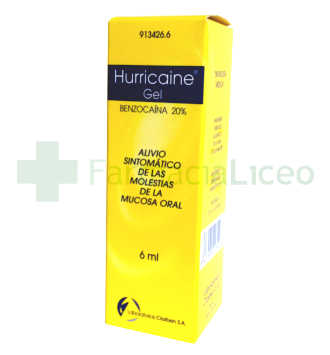 HURRICAINE 20% GEL TOPICO 6 ML