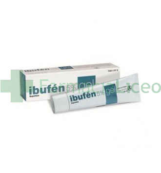 IBUFEN TOPICO 5% GEL TOPICO 50 G