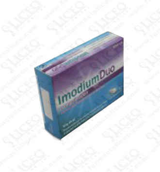 IMODIUM DUO 2/125 MG 12 COMPRIMIDOS
