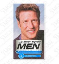 JUST FOR MEN CHAMPU COLORANTE 30 CC CASTAÑO MEDI