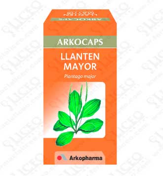 LLANTEN MAYOR ARKOCAPS 280 MG 48 CAPSULAS