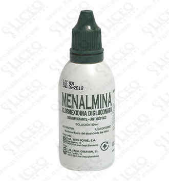 MENALMINA 1% SOLUCION TOPICA 1 FRASCO 40 ML