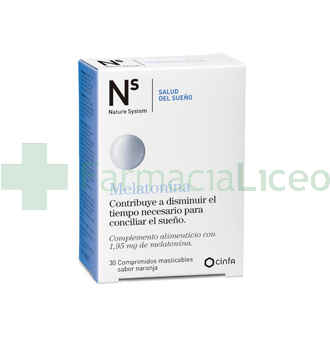 NS MELATONINA COMP MASTICABLES NARANJA 1.95 MG 3