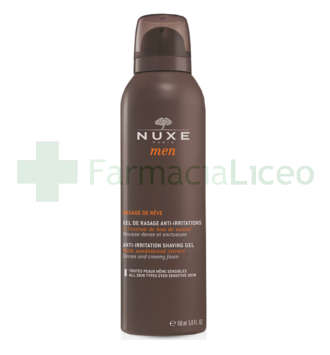 NUXE MEN GEL DE RASAGE ANTI IRRITACION 150 ML