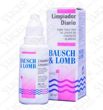 BAUSCH and LOMB LIMPIADOR DIARIO 30 ML