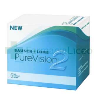 BAUSCH and LOMB PURE VISION 2 6 UNIDADES