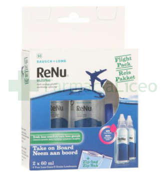 RENU FLIGHT PACK 60 ML 2 UNIDADES