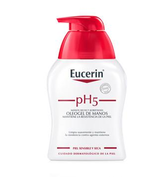OLEOGEL MANOS EUCERIN PIEL SENSIBLE PH-5 250 ML