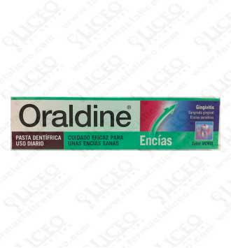 ORALDINE ENCÍAS PASTA DENTAL 125 ML MENTA