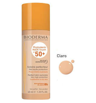 PHOTODERM NUDE SPF 50+ BIODERMA COLOR CLARO 40 M