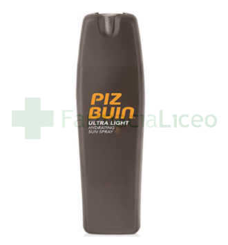 PIZ BUIN SPRAY SOLAR HIDRATATNE ULTRA LIGHT FPS +15 200 ML