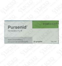 PURSENID 12 MG 20 GRAGEAS