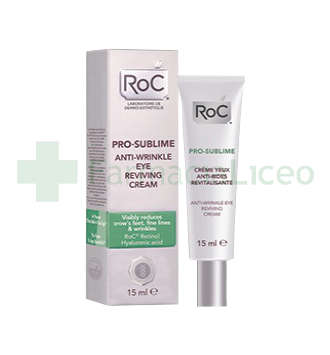 ROC PRO- SUBLIME CREMA ANTIARRUGAS REVITALI OJOS 15 ML