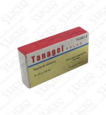 TANAGEL POLVO 250 MG 20 SOBRES POLVO SUSPENSION