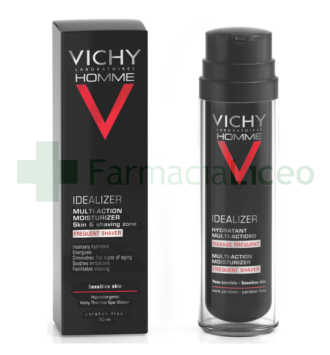 VICHY HOMME IDEALIZER HIDRATANTE MULTI-ACCION 50 ML