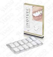 YOTUEL FARMA CHICLE DENTAL BLANQUEADOR 10 U